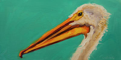 Painting - Pelican #2 by Diane Whitehead