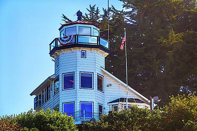 Photograph - Pelican Bay Lighthouse Oregon by Garry Gay