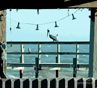 Photograph - Pelican Christmas by Joe Jake Pratt
