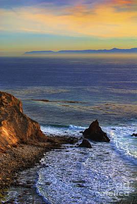 Pelican Cove In Rancho Palos Verdes Art Print