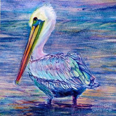 Pelican Gaze Art Print