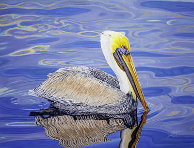 Painting - Pelican  by Manuel Lopez