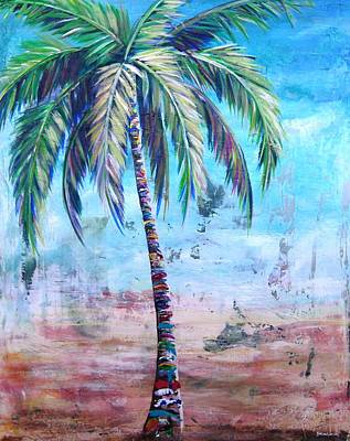 Painting - Pelican Palm I by Kristen Abrahamson