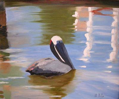 Pelican Pete Art Print