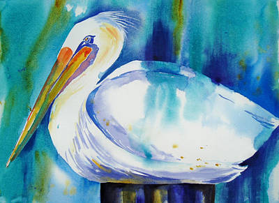 Painting - Pelican Pete by Tara Moorman
