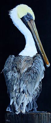 Painting - Pelican by Vicky Path