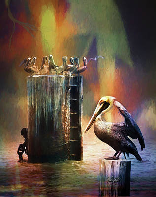 Photograph - Pelican Ways by Sandra Schiffner