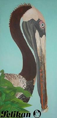 Pelikan Painting - Pelikan by Epifanio Mate