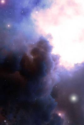 Photograph - Pelion Nebula by Everett Bowers