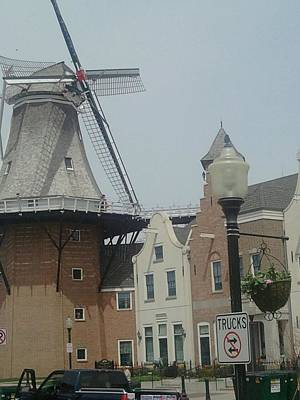 Pella Iowa Windmill Art Print