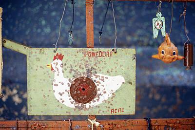 Pellet Gun Targets 3 Art Print