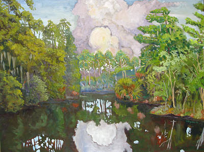 Painting - Pellicer Creek by D T LaVercombe