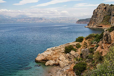 Photograph -  Peloponnes Peninsular by Shirley Mitchell