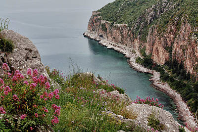 Photograph - Peloponnese Peninsular by Shirley Mitchell