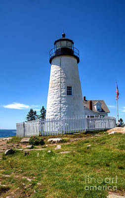 Photograph - Pemaquid Point Lighthouse by Adrian LaRoque
