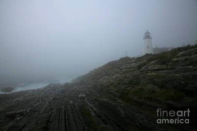 Pemaquid Lighthouse Photograph - Pemaquid And The Sea by Timothy Johnson