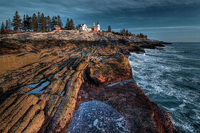 Digital Art - Pemaquid At Low Tide by Patrick Groleau