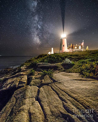 Maine Landscape Photograph - Pemaquid At Night by Benjamin Williamson