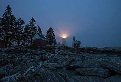 Photograph - Pemaquid At Night  by Gordon Ripley