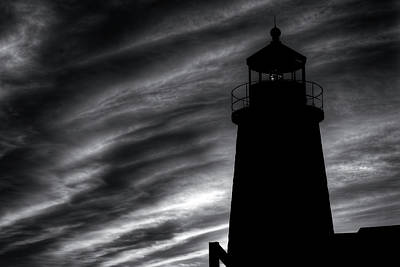 Digital Art - Pemaquid Bw by Patrick Groleau