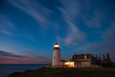 Royalty-Free and Rights-Managed Images - Pemaquid Dawn by Darren White