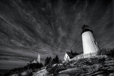 Digital Art - Pemaquid Dawn by Patrick Groleau