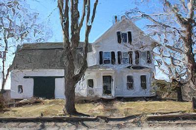 Pemaquid House On Harrington Road Art Print