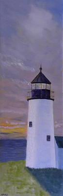 Pemaquid Light Morning Light Art Print