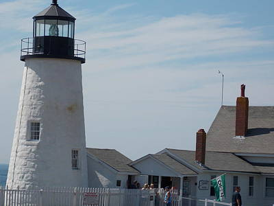 Photograph - Pemaquid Lighthouse by Catherine Gagne