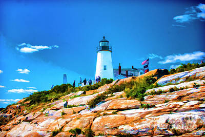 Photograph - Pemaquid Lighthouse One by Rick Bragan
