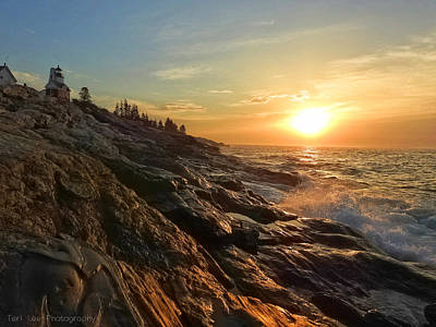 Photograph - Pemaquid Lighthouse by Teri Ridlon