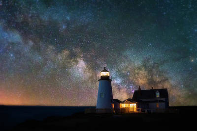 Photograph - Pemaquid Mysteries by Darren White