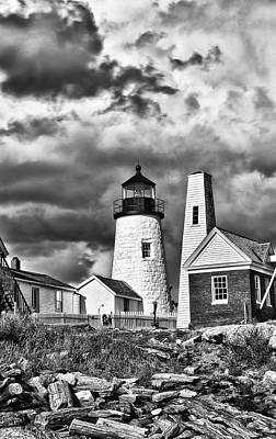 Photograph - Pemaquid Point 4821b by Guy Whiteley