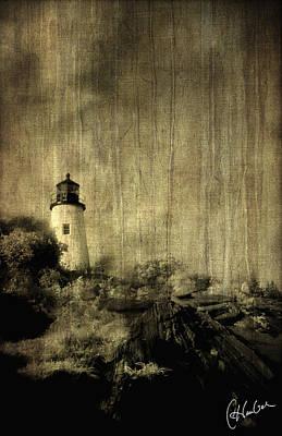 Pemaquid Point Art Print by Christine Hauber