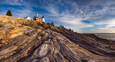 Photograph - Pemaquid Point  by Darren White