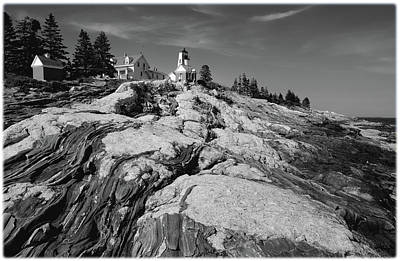 Photograph - Pemaquid Point by Janice Adomeit