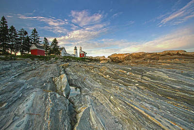 Photograph - Pemaquid Point  by Juergen Roth