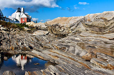 Photograph - Pemaquid Point  by Karin Pinkham
