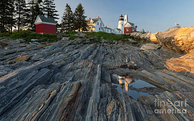 Photograph - Pemaquid Point Light by Joshua Clark