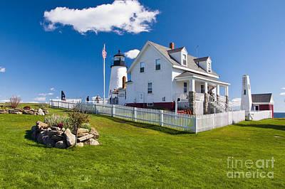 Photograph - Pemaquid Point Lighthouse 10 by Glenn Gordon