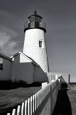 Photograph - Pemaquid Point Lighthouse by Carolyn Derstine