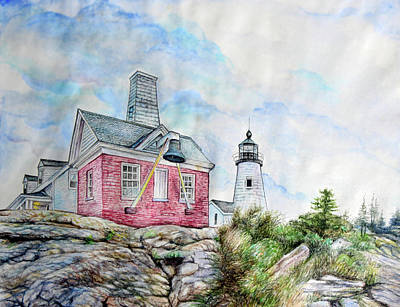 Pemaquid Point Lighthouse Original by Shwet Pradhan