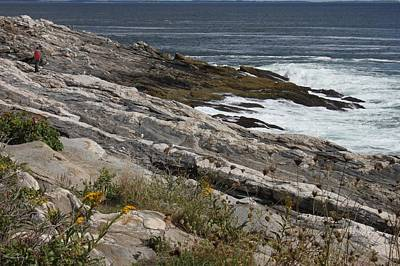 Photograph - Pemaquid Point, Maine by Carolyn Jacob