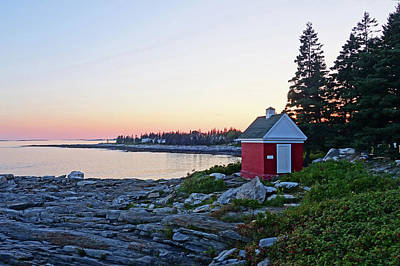 Photograph - Pemaquid Point Maine Sunset by Toby McGuire