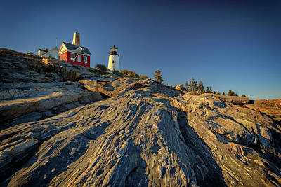 Photograph - Pemaquid Point by Rick Berk