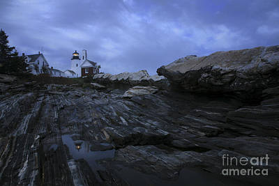 Pemaquid Lighthouse Photograph - Pemaquid Reflection by Timothy Johnson