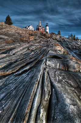 Digital Art - Pemaquid Ridge Color by Patrick Groleau