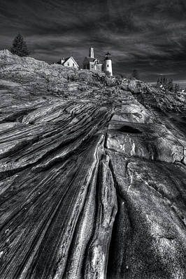 Digital Art - Pemaquid Ridge by Patrick Groleau