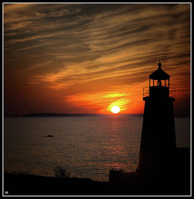 Photograph - Pemaquid Sunrise by John Meader