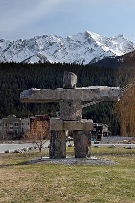Photograph - Pemberton Town Inukchuk by Pierre Leclerc Photography